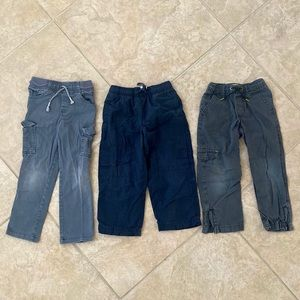 3 Pair of Boys Long Pants size 4 & 5
